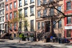 Zaciszność pusty chodniczek w Miasto Nowy Jork obrazy royalty free