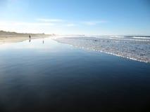 Zaciszności plaża Zdjęcia Stock