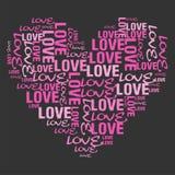 Zacken Sie Liebe aus Stockbilder