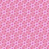 Zacken Sie nahtlosen mit Blumenhintergrund aus Stockbilder