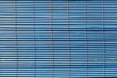 Zackige blaue Blendenverschlüsse Lizenzfreies Stockbild