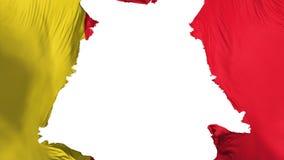 Zackige Moroni-Flagge vektor abbildung