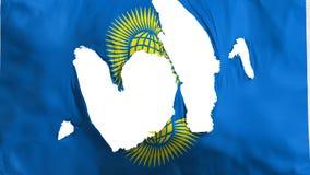 Zackiger Commonwealth der Nationsflagge vektor abbildung