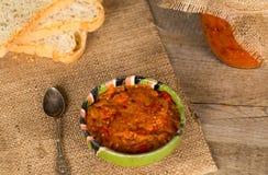 Zacusca - традиционная румынская еда Стоковое Изображение RF