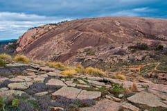 Zaczarowana skała blisko Fredricksburg, Teksas Zdjęcie Royalty Free