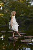 zaczarowany ogrodowy odbicie zdjęcie royalty free