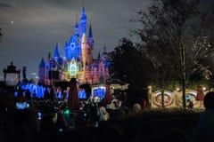 Zaczarowany Storybook kasztel przy Szanghaj Disneyland, Chiny zdjęcia royalty free
