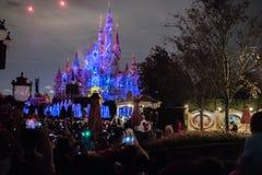 Zaczarowany Storybook kasztel przy Szanghaj Disneyland, Chiny fotografia stock