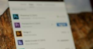 Zaczynać Adobe premiera CC próby tryb zbiory