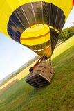 Zaczynać gorące powietrze balon Fotografia Stock
