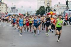 Zaczyna atleta biegaczów Zdjęcia Stock