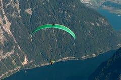 Zaczynać paraglider obrazy stock