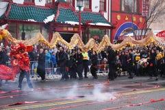 Zaczynać Pożarniczy krakersa taniec Fotografia Stock