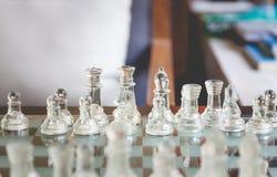 Zaczyna szachową grę Zdjęcia Stock