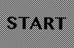 zaczynać tekst Obraz Stock
