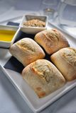 Zaczyniająca chlebowa rolka Zdjęcie Stock