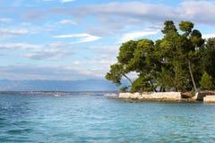 Zadar ön i Kroatien Royaltyfri Fotografi
