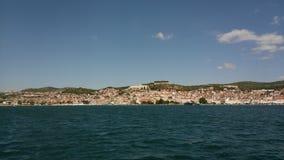 Zadar, столица Хорватии стоковые изображения rf