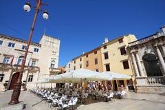 Zadar, Хорватия стоковые фотографии rf
