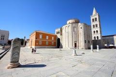 Zadar, Хорватия стоковые изображения rf