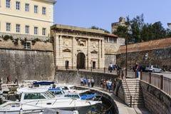 Zadar, Хорватия Стоковое Изображение RF