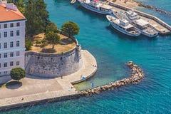Zadar Arkivfoto