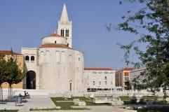 Zadar Arkivfoton