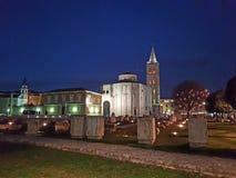 Zadar Στοκ εικόνα με δικαίωμα ελεύθερης χρήσης