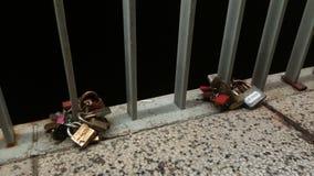 Zadar, amore bloccato fotografie stock libere da diritti