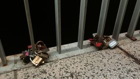 Zadar, amour verrouillé Photos libres de droits