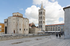 Zadar. Byzantine Architecture Stock Photo