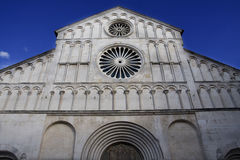 Zadar cathedral Stock Image