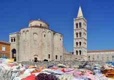 Zadar church Stock Photos