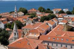 Zadar city, Mediterranean coast, Croatia Stock Photo