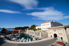 Zadar Cityscape Royalty Free Stock Photos