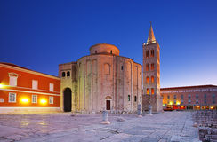 Zadar, Croatia. Church of St. Donat, Zadar, Croatia Stock Images