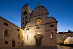 Zadar, Croatia. Church and Monastery of St. Mary in Zadar, Croatia Stock Photography
