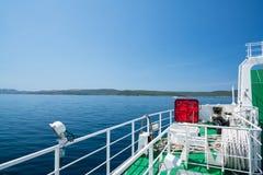 Zadar, Croatia - July 20, 2016: on the ferry - the way to Brbinj Stock Image