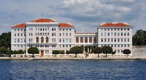 zadar Croatia uniwersytet Zdjęcia Royalty Free