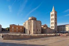 Zadar Croazia Fotografia Stock Libera da Diritti