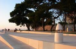 Zadar deptak Zdjęcie Stock
