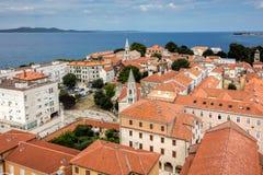 Zadar, die älteste ununterbrochen bewohnte kroatische Stadt lizenzfreie stockfotografie