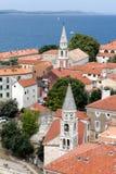 Zadar, die älteste ununterbrochen bewohnte kroatische Stadt stockfotografie