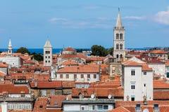 Zadar, die älteste ununterbrochen bewohnte kroatische Stadt stockfoto