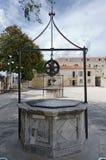 Zadar. Five Wells. Square of Five Wells (Trg Pet bunara) in Zadar, Croatia Royalty Free Stock Images