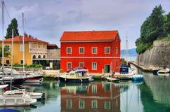 Zadar hamn Arkivbild