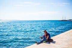 Zadar, Kroatië Stock Afbeeldingen