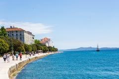 Zadar, Kroatië Stock Foto