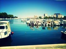 Zadar, Kroatië stock afbeelding