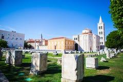 Zadar, Kroatien Stockbilder